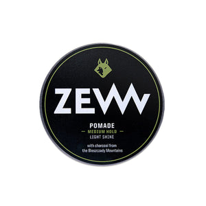 Hair Pomade with charcoal