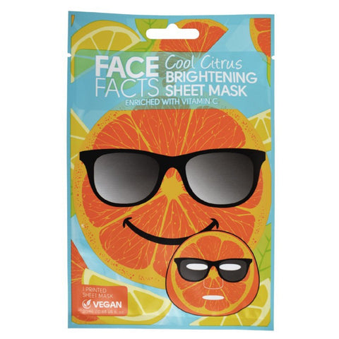 Printed Sheet Mask - Cool Citrus