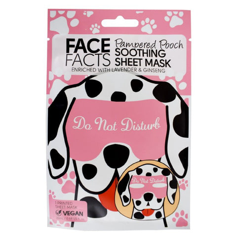 Printed Sheet Mask - Pampered Pooch