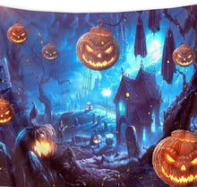Load image into Gallery viewer, Halloween Pumpkin Hanging Tapestry Wall Decor Best Decoration Festival Decor Gift