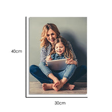 Load image into Gallery viewer, Custom Baby Photo Wall Decor Painting Canvas