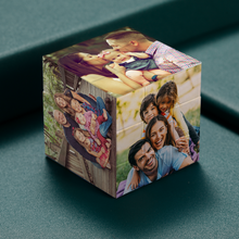 Load image into Gallery viewer, Custom Multiphoto Rubik's Cube Family Gifts Home Decoration