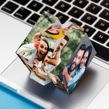 Load image into Gallery viewer, Custom Photo Rubik's Cube Multiphoto Rubik's Cube