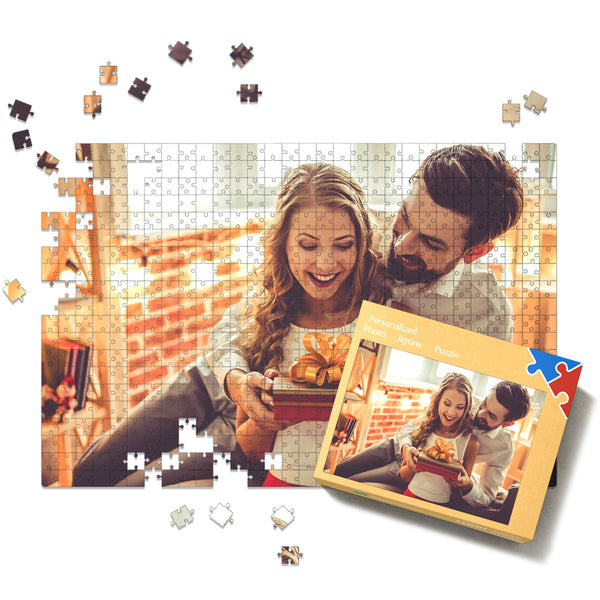 Custom Photo Jigsaw Puzzle - 35-1000 pieces Puzzles Valentine's Day Gifts