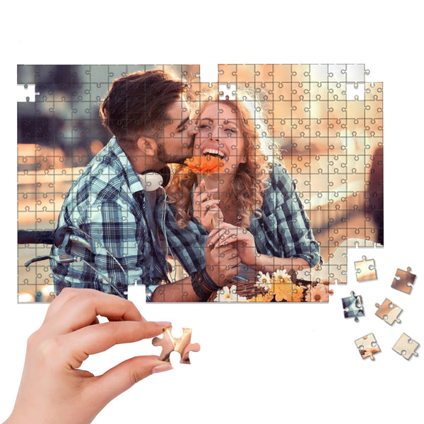 Valentine's Day Gift Custom Couple Photo Jigsaw Puzzle - 35-1000 pieces Puzzles