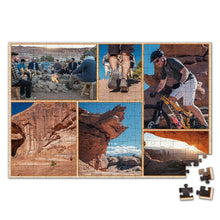 Load image into Gallery viewer, Personalized Photo Jigsaw Puzzle Record Your Trip - 35-500 pieces