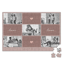Load image into Gallery viewer, Personalized Photo Jigsaw Puzzle You Are My Love Anniversary Gift - 35-500 pieces
