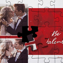 Load image into Gallery viewer, Personalized Photo Jigsaw Puzzle Be My Valentine - 35-500 pieces