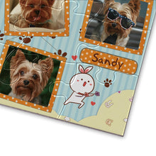 Load image into Gallery viewer, Personalized Photo Jigsaw Puzzle My Pet - 35-500 pieces