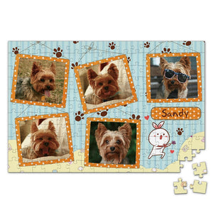 Personalized Photo Jigsaw Puzzle My Pet - 35-500 pieces