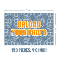 Load image into Gallery viewer, Personalized Photo Jigsaw Puzzle Warm Family Photo - 35-500 pieces
