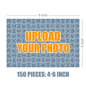 Personalized Photo Jigsaw Puzzle Warm Family Photo - 35-500 pieces