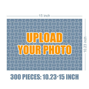 Personalized Photo Jigsaw Puzzle Love You to The Moon - 35-500 pieces