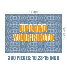 Load image into Gallery viewer, Personalized Photo Jigsaw Puzzle Good Morning Baby - 35-500 pieces