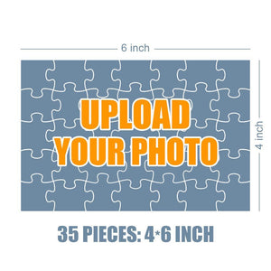 Personalized Photo Jigsaw Puzzle Happy Family - 35-500 pieces