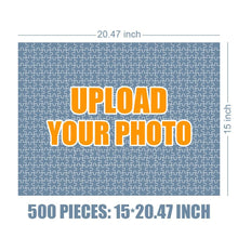 Load image into Gallery viewer, Personalized Photo Jigsaw Puzzle I Love My Family - 35-500 pieces