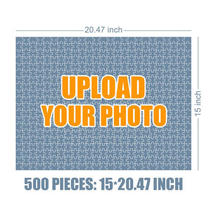 Personalized Photo Jigsaw Puzzle Love Is All Your Need - 35-500 pieces