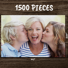 Load image into Gallery viewer, Personalized Photo Jigsaw Puzzle I Love Mom Custom Gifts- 35-1000 pieces Puzzles for Adults