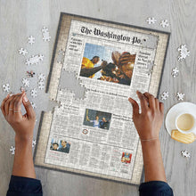 Load image into Gallery viewer, Newspaper Jigsaw Puzzle