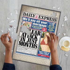 Newspaper Jigsaw Puzzle