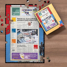 Load image into Gallery viewer, The Province Front Page Jigsaw Puzzle Personalized A Specific Date Newspaper Puzzle Unique Gift