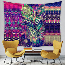Load image into Gallery viewer, Psychedelic Sun and Moon Tapestry, Wall Decor Hanging Tapestry