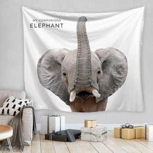Elephant Tapestry, Wall Decor Hanging Tapestry