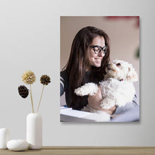 Load image into Gallery viewer, Custom Photo Wall Art Decor Painting Canvas Pet Lover - 30*40cm