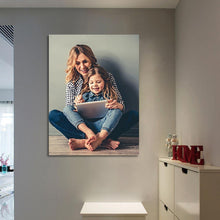 Load image into Gallery viewer, Gifts for Mom Custom Photo Wall Decor Painting Canvas