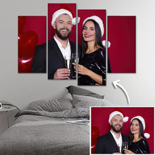 Load image into Gallery viewer, Custom Photo Wall Decor Painting Canvas 4 pieces