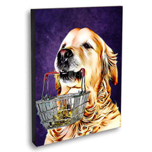Load image into Gallery viewer, Custom Pet Portraits Oil Painting 16*20in - Plum
