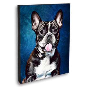 Custom Pet Portraits Oil Painting 16*20in - Sapphire