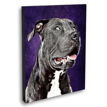 Load image into Gallery viewer, Custom Pet Portraits Oil Painting 8*10in - Plum