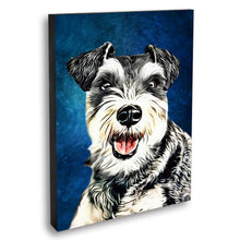 Load image into Gallery viewer, Custom Pet Portrait Oil Painting 20*30in - Sapphire