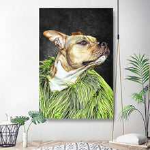 Load image into Gallery viewer, Custom Pet Portrait Oil Painting 20*30in - Plum