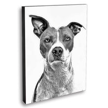Load image into Gallery viewer, Custom Pet Portrait Oil Painting 20*30in - White