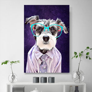 Custom Pet Portraits Painting 24*36in - Sapphire
