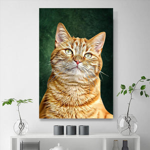 Custom Pet Portraits Painting 24*36in - Olive
