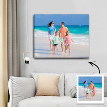 Load image into Gallery viewer, Custom Photo Canvas Prints With Frame Family Photo Home Decoration
