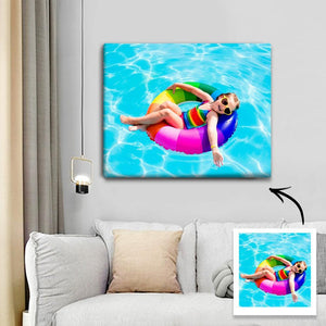 Custom Photo Canvas Prints Wall Art