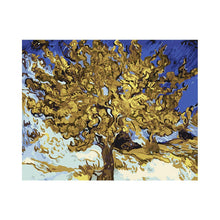 "Load image into Gallery viewer, Van-Gogh Mulberry Tree - DIY Paint by Numbers Kit - 16""x20"""