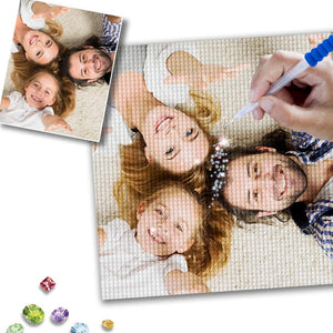 Custom Family Photo DIY Diamond Painting