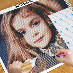Surprise Gift DIY Custom Photo Diamond Painting