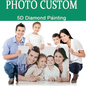 Gifts for Her Diy Custom Photo Diamond Painting