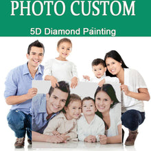 Load image into Gallery viewer, Custom Family Photo DIY Diamond Painting