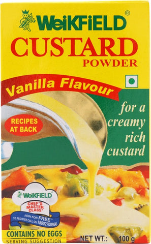 Weikfield Vanilla Flavour Custard Powder(100 g)