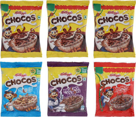Kellogg's Chocos Combo Pack(154.44 g, Pack of 6)