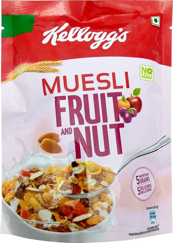 Kellogg's Muesli Fruit and Nut(150 g, Pouch)