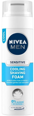 NIVEA MEN Sensitive Cooling Shaving Foam(200 ml)
