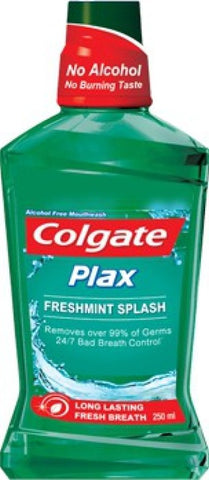 Colgate Plax Mouthwash - Fresh Mint(250 ml)